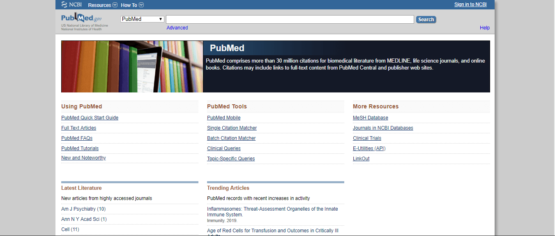 μηχανές αναζήτησης επιστημονικών άρθρων pubmed