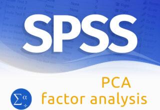 Factor analysis/PCA